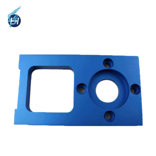 high quality Chinese manufacture OEM service Colorful surface treatment Blue anodic oxidation products Black