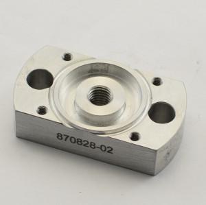 Pièces de machine faites sur commande de haute précision fabriquées en Chine / usinant des pièces