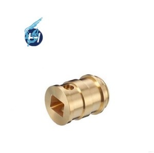 Widely used high grade customized machining service good quality polishing passivation copper parts