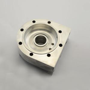 Maschinenteile-Hardware-Bearbeitungsdienste CNC-CNC-Drehmaschinen für die Bearbeitung von Aluminium-Teilen für Drehteile