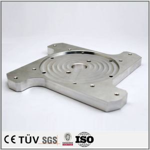 High precision DMG five-axis machining center processed stainless steel parts