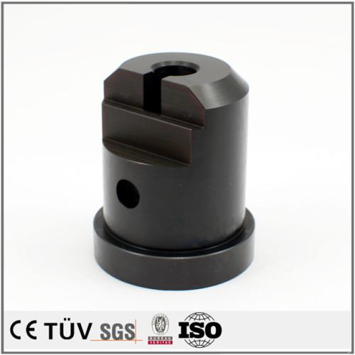 Kundenspezifische Hochpräzisions-Aluminium-Hartanodisieranodisierung mit Schwarzfärbung und andere Oberflächenbehandlungsdienste