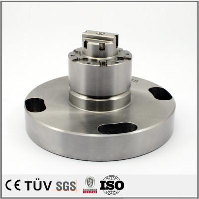 高精度な金属部品の複合旋盤加工