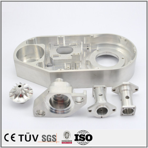 China hat sich auf die Herstellung von kundenspezifischen Edelstahl-Aluminiumteilen für Werkzeugmaschinen spezialisiert