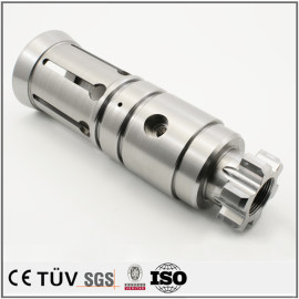 高精度数控加工 DMG车铣复合加工碳素钢 SNCM439材料 同心度0.005 垂直度0.01 圆筒度0.005