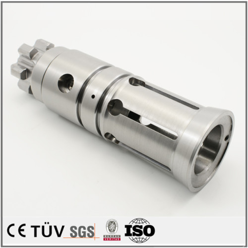 DMG车铣复合加工碳素钢 SNCM439材料,同心度0.005 垂直度0.01 圆筒度0.005 高精度数控加工