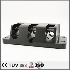 高精度POM材質加工、両主軸複合旋盤五軸連動加工精密機械パーツ、産業機械設備パーツ