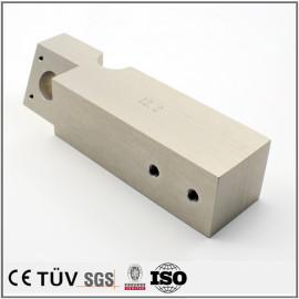Clear eloxiert Ersatzteile für Lebensmittelmaschinen kundenspezifische CNC-Bearbeitung Oberflächenbehandlung chinesische Herstellung OEM-Service