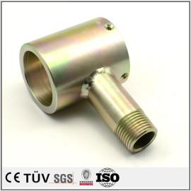Componentes de chapado de zinc de acero inoxidable CNC Servicio de galvanizado de zinc de color