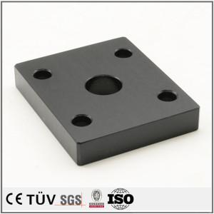 черное цветастое анодируя обработка поверхности продуктов запасных частей подгоняла части cnc подвергая механической обработке