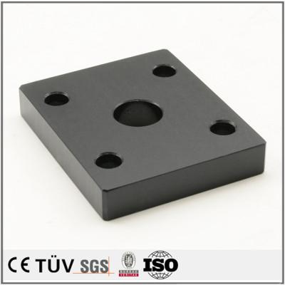 schwarz bunt eloxiert ersatzteile produkte oberflächenbehandlung kundenspezifische cnc-bearbeitung teile