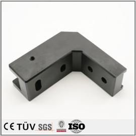Colorido anodizado repuestos negro personalizado mecanizado cnc piezas galvanizadas productos tratamiento superficial