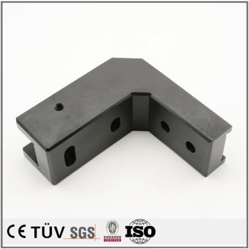 Buntes Anodisieren der Ersatzteile schwärzen kundengebundenes cnc, das galvanisierte Teilprodukte Oberflächenbehandlung bearbeitet