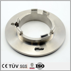 Servicio de mecanizado CNC personalizado de piezas y accesorios de acero inoxidable de alta precisión.