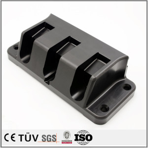 mass-produced CNC Machining Smoothed Black Derlin POM Parts for Machine Plastic Parts Made in China