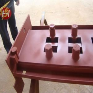 大型/炭鋼材、真鍮材など/レ-ザ-溶接/箱体溶接部品/包装機用溶接構造部品