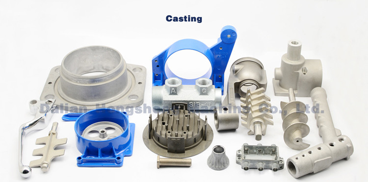 Experienced customized investment casting CNC machining sewing machine parts
