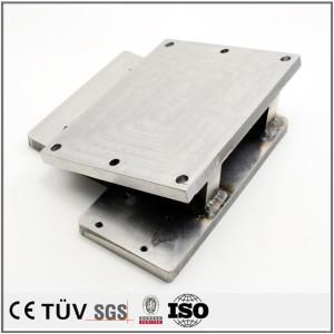 中型溶接品/s45c.S25C、SUS304材など/摩擦溶接/底台鋼材溶接部品/工業用精密な溶接構造品