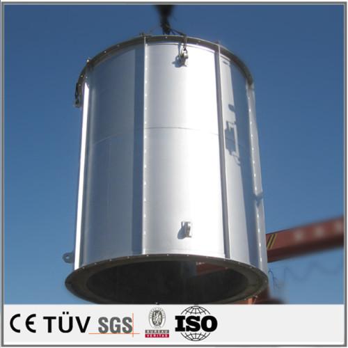 China OEM eloxieren aluminium schweißen teile power beschichtung stahlschweißen teile sandgestrahlt schweißen teile