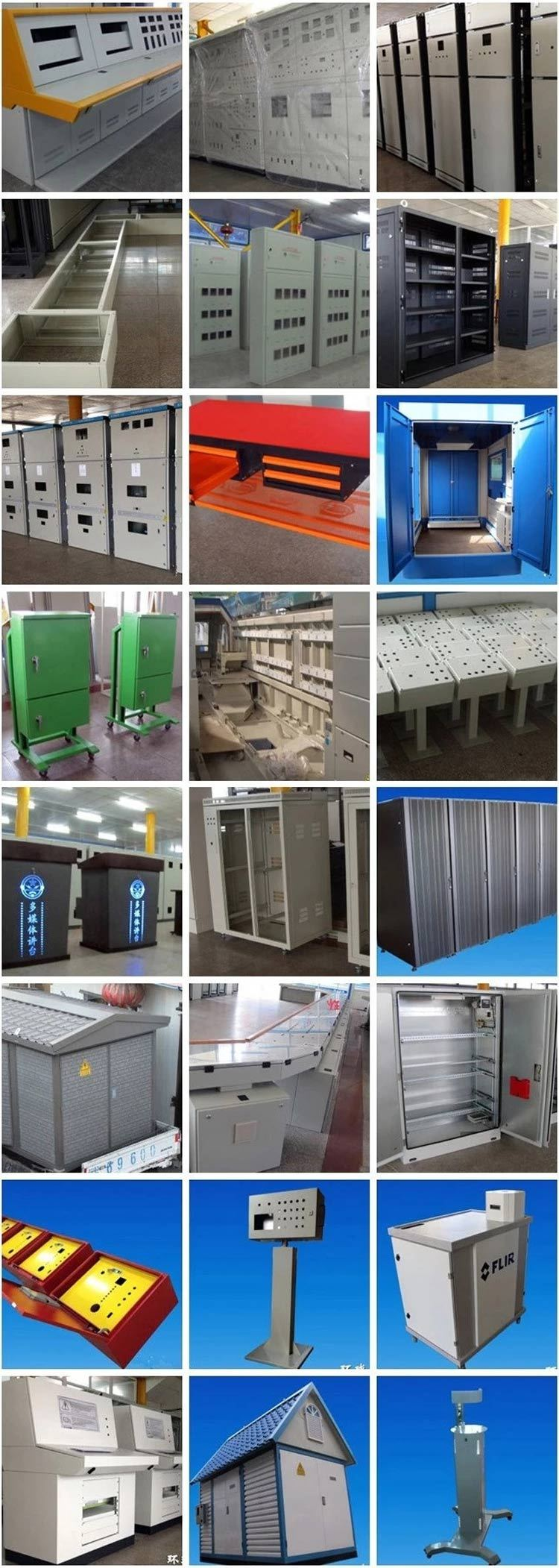 Wholesale galvanized stamping parts high quality sheet metal fabrication sheet metal manufacture