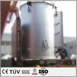 Soldadura de acero pesado pieza de soldadura fabricación de piezas de ensamblaje de soldadura piezas de soldadura con recubrimiento de zinc