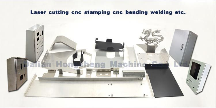 China welding parts with sand blasting welding fixture front fender sysmetrical welding plate parts