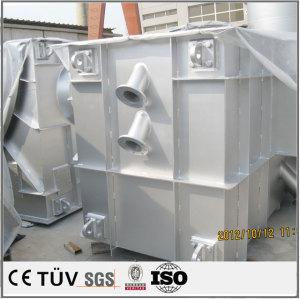鋳造大型鋳鉄プレート.塗装した架台溶接部品