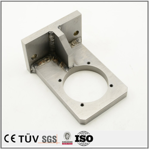 厂家直销各类精密设备用焊件,不锈钢、碳钢焊接,印刷设备用零件,大连制造