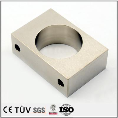 無電解ニッケルメッキ 基盤プレート SS400 MC加工 精密設備部品