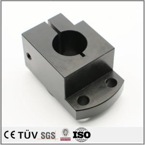 黒染処理 炭素鋼材 表面処理部品  NC/MC加工   精密部品加工
