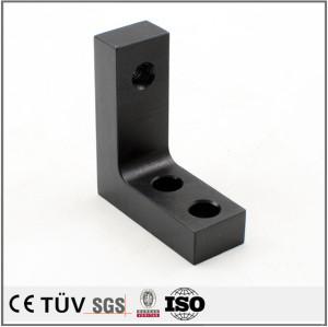 四三酸化鉄被膜処理 鉄系材 DMG複合加工機加工 防錆処理 精密部品の 表面処理