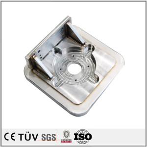 小溶接品/ss400材、s45溶接品/ユニクロした溶接品/ユニクロしたフレーム溶接部品/梱包機用溶接品