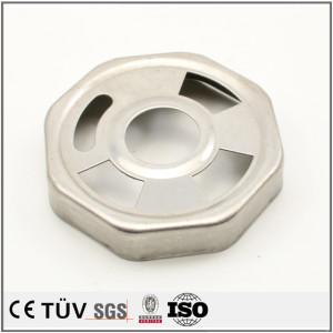 Custom steel metal sheet part work thin metal stamped sheet metal parts aluminum stamping process