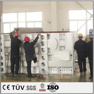 China rectangular tube welding welding Handling tool combi welding sysmetrical welding plate parts