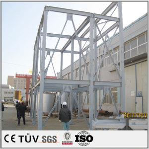 China welding rear door parts frame welding plate parts Handling tool combi welding