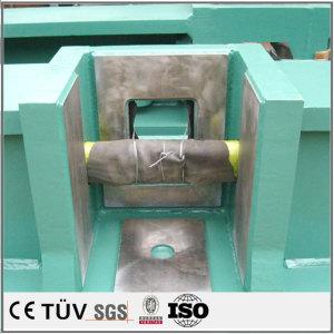 China welding parts in solidworks rectangular tube welding plate parts Handling tool combi welding