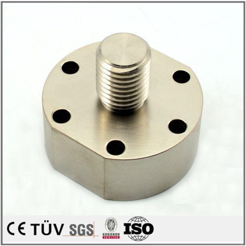 カニゼンメッキ  精密金属部品加工 NC旋盤/フライス加工 表面処理無電解ニッケルメッキ 梱包機械部品