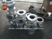 Custom dalian iron aluminium sand casting parts with CNC machining sand casting