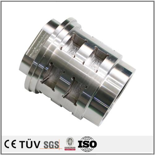 高精密炭素鋼、DMG ctx gamma2000tc 複合旋盤5軸連動加工機加工高精度パーツ、切削設備主軸パーツ