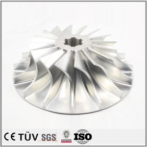 高品质DMG 50五轴联动加工中心加工精密设备配件,铝7075材质精密加工压缩机配件