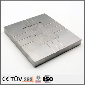 Stainless steel parts machined by 3-axis and 4-axis machining center. customized machine parts machining.