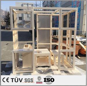 大型溶接製品/ss400材の溶接部品/塗装したss400材の枠架溶接品/塗装したss400材の枠架溶接品制溶接部品/工業用機鉄製溶接品