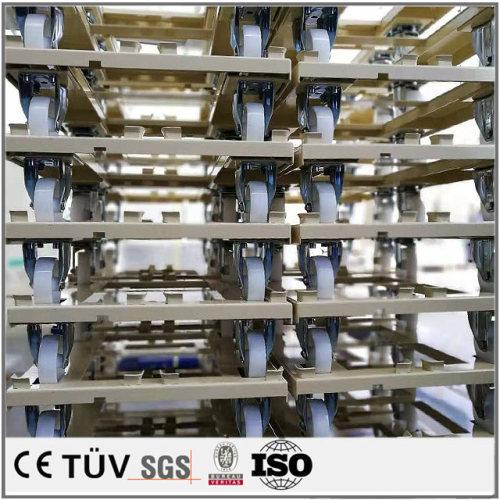 Q235ステンレス材質板金加工、工業用簡易な押し車加工