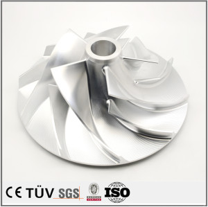Five axis machining center processing parts, compressor, fan parts processing, SUS304 material