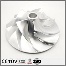 Five axis machining center processing parts, compressor, fan parts processing, AL7075 material