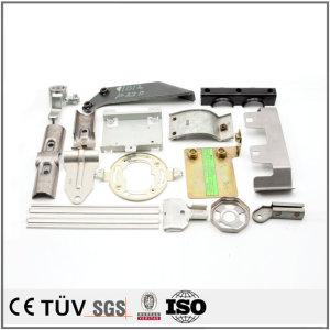 精密な板金物、SUS304,SS400,S45C,A7075など材料、レーザー切断したり、曲げたり、溶接したり。塗装した板金