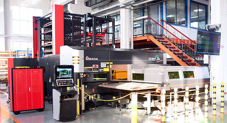Japan AMADA LC2512C1AJ Laser cutting and punching composite machine