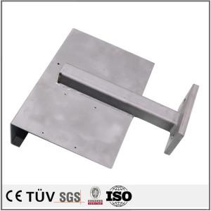 小型溶接部品、S45C,SS400,SUS304、アルミ材料など、酸化、黒染など表面処理、精密溶接加工部品、印刷機用精密溶接部品