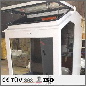 ss400材またステンレスなど材料溶接部品、完璧な溶接部品、塗装した溶接、工業用大きな枠架大型溶接部品、大型ss400材の溶接品