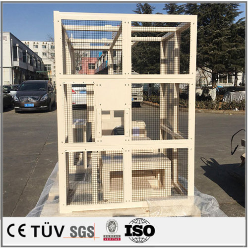 大溶接物/SUS304材、s45cの溶接部品/三価クロメートした溶接品/三価クロメートした精密なs45製溶接部品/運送機用銅製溶接品